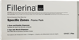 Духи, Парфюмерия, косметика Набор - Fillerina Grade 3+ (lips/gel/7ml + eye/gel/15ml)