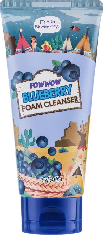 "Пенка для умывания ""Черника"" - Esfolio Powwow Blueberry Foam Cleanser"