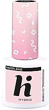 Духи, Парфюмерия, косметика Верхнее базовое покрытие для ногтей - Hi Hybrid Pastel Base