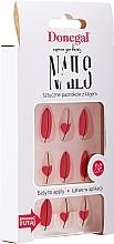 Духи, Парфюмерия, косметика Набор искусственных ногтей с клеем, 3067 - Donegal Express Your Beauty