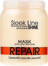 Духи, Парфюмерия, косметика Маска для поврежденных волос - Stapiz Sleek Line Repair Mask