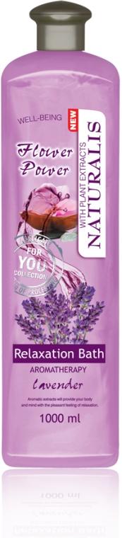 Масляная пена для ванны - Naturalis Flower Power Relaxation Bath