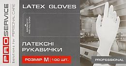 Духи, Парфюмерия, косметика Перчатки латексные белые, размер M - PRO service Professional