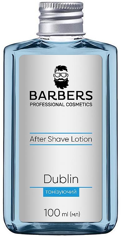 Тонизирующий лосьон после бритья - Barbers Dublin Aftershave Lotion