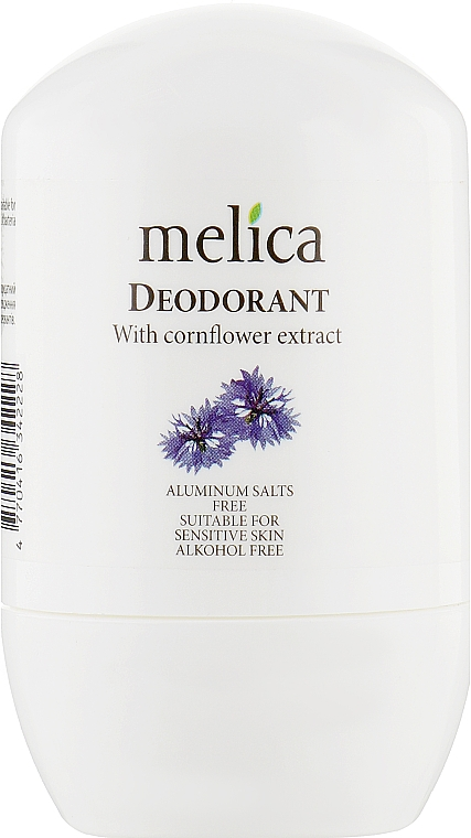Дезодорант с экстрактом василька - Melica With Cornflower Extract Deodorant