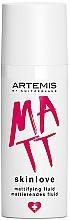 Духи, Парфюмерия, косметика Матирующий флюид - Artemis of Switzerland Skinlove Mattifying Fluid