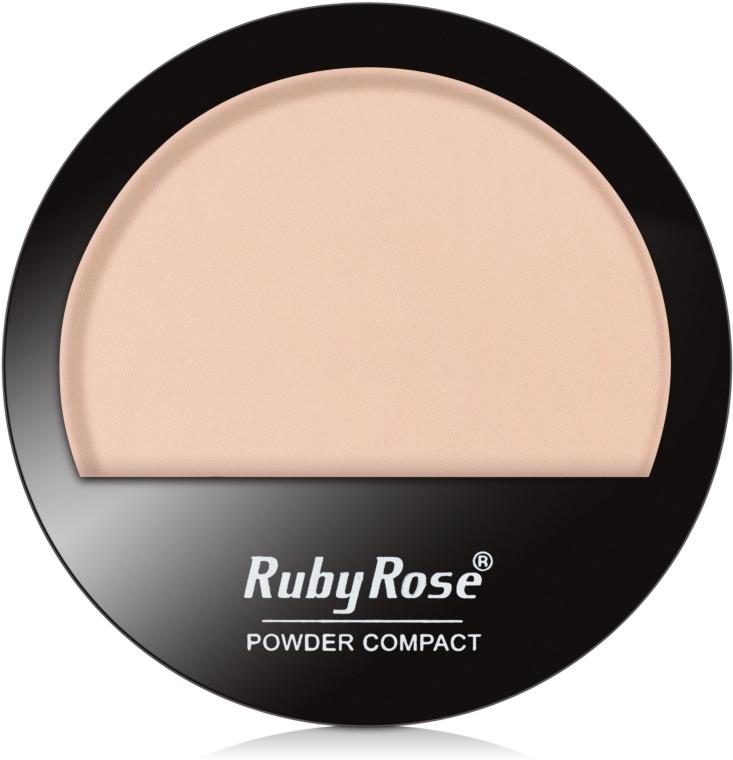 Пудра компактная для лица, HB-7206 - Ruby Rose Powder Compact