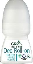 Духи, Парфюмерия, косметика Шариковый дезодорант - Gron Balance Deo Roll-On