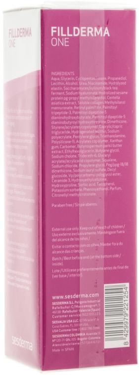 Крем заповнення зморшок - SesDerma Laboratories Fillderma One Wrinkle Cream Filling — фото N2