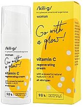 Духи, Парфюмерия, косметика Регенерирующий крем для лица с витамином С - Kili·g Woman Vitamin C Regenerating Cream