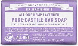 "Духи, Парфюмерия, косметика Мыло ""Лаванда"" - Dr. Bronner's Pure Castile Bar Soap Lavender"