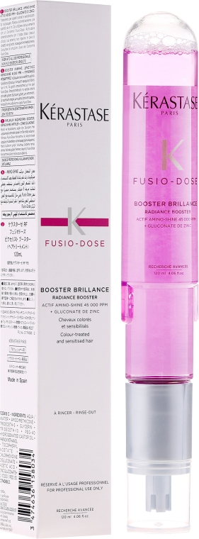 Бустер для сияния волос - Kerastase Fusio Dose Booster Brillance Radiance