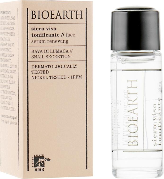 Тонизирующая сыворотка для лица - Bioearth Toning Serum