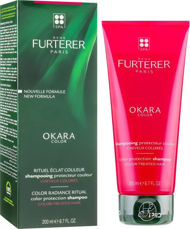Шампунь для окрашенных и поврежденных волос - Rene Furterer Okara Color Shampooing Protecteur Couleur