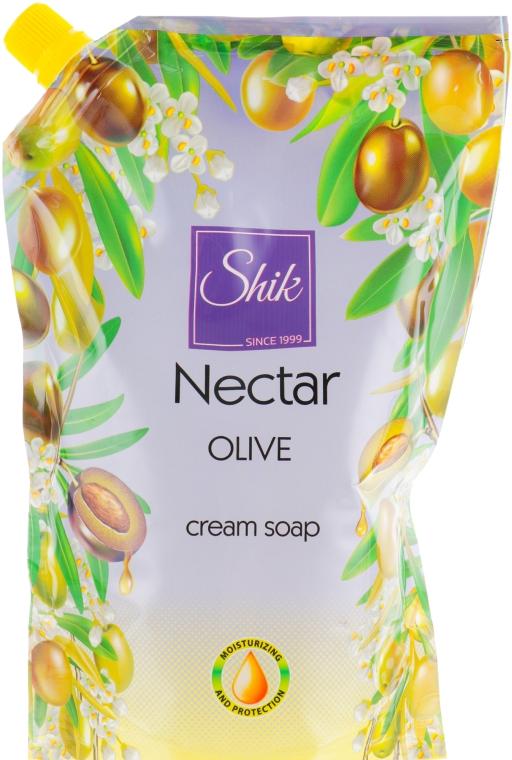 """Гель-мыло жидкое """"Оливковое"""", дой-пак - Шик Nectar"""