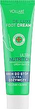 Духи, Парфюмерия, косметика Крем для ног - Vollare De Luxe Ultra Nutrition Foot Cream
