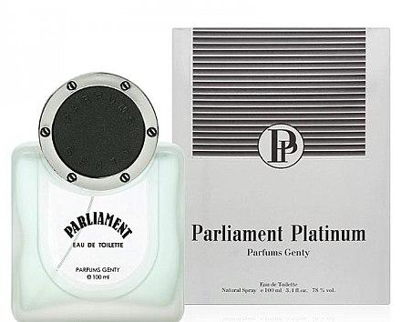 Parfums Genty Parliament Platinum - Туалетная вода (тестер с крышечкой) — фото N1