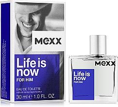 Духи, Парфюмерия, косметика Mexx Life is Now for Him - Туалетная вода