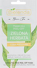 Духи, Парфюмерия, косметика Маска для лица Peel-Off - Bielenda Green Tea Peel-Off Mask For Combination Skin