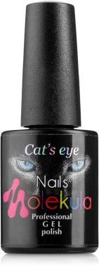 """Гель-лак """"Эффект кошачий глаз"""" - Nails Molekula Cat's Eye Gel Polish"""