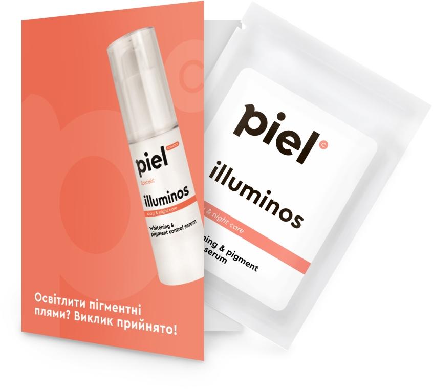 Интенсивная отбеливающая сыворотка - Piel Cosmetics Specialiste Intensive Whitening Serum Illuminos (пробник)