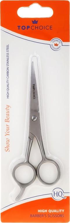 Ножницы парикмахерские матовые 13/14.5 см, размер M, 20308 - Top Choice — фото N1