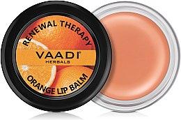 Духи, Парфюмерия, косметика Бальзам для губ с апельсином - Vaadi Herbals Orange lip Balm