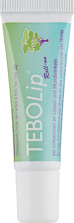 Роликовая туба для губ с маслом чайного дерева - Dr. Wild TeboLip (Melaleuca Alternifolia)