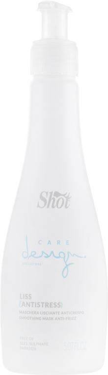 Маска разглаживающая для волос - Shot Care Design Antistress Smoothing Mask Anti-Frizz