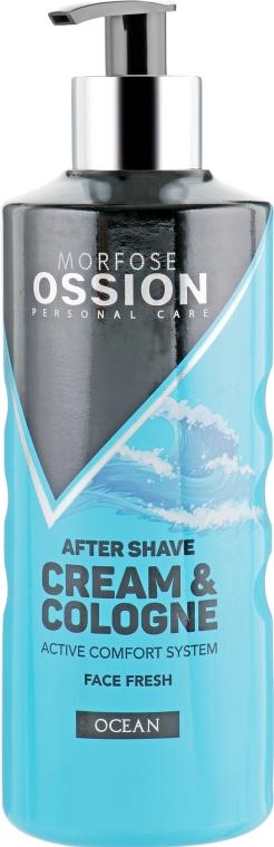 """Крем после бритья """"Океан"""" - Morfose Ossion After Shave Cream & Cologne Ocean"""