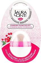 Духи, Парфюмерия, косметика Сахарный скраб для губ с частицами клюквы - Laura Conti Lip Peeling
