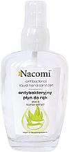 Духи, Парфюмерия, косметика Антибактериальный спрей для рук в стеклянной бутылке - Nacomi Antibacterial Liquid Hand Sanitizer