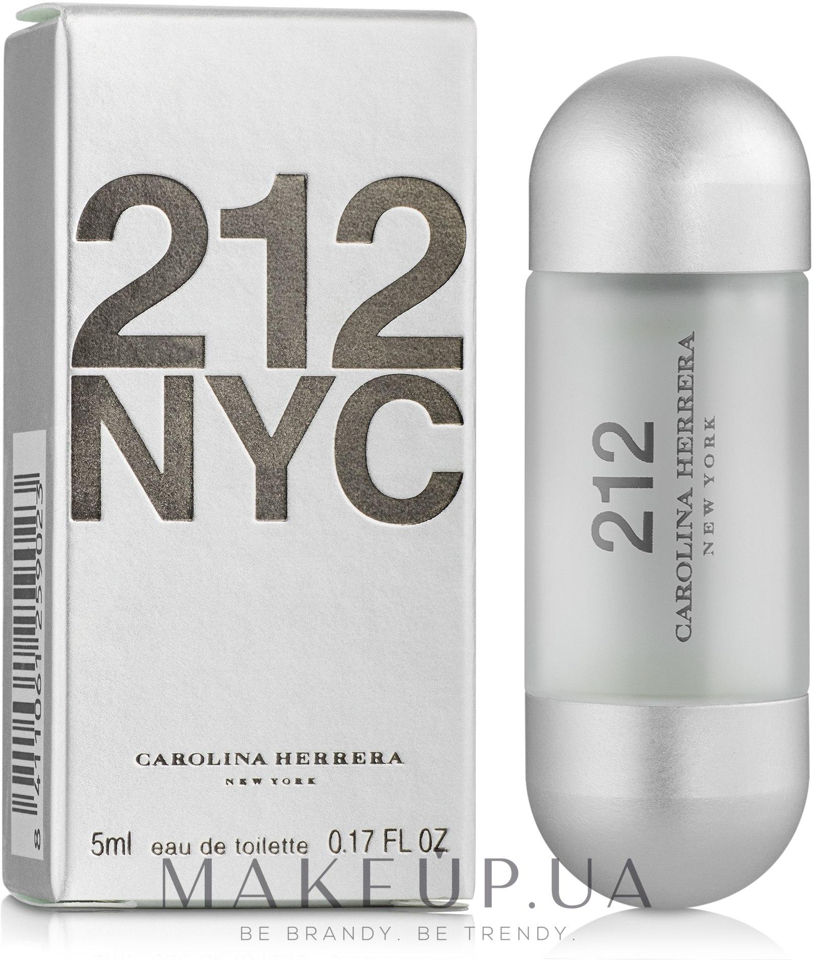 Carolina Herrera 212 NYC - Туалетная вода (мини) — фото 5ml