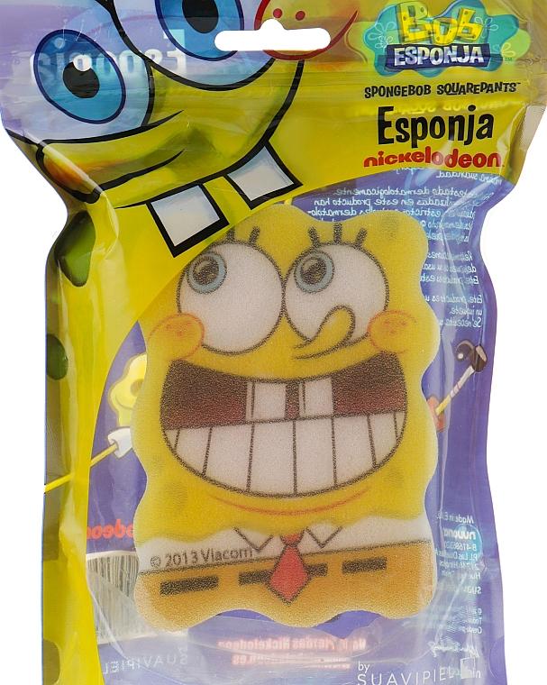 Мочалка банная детская «Спанч Боб» 7 - Suavipiel Sponge Bob Bath Sponge