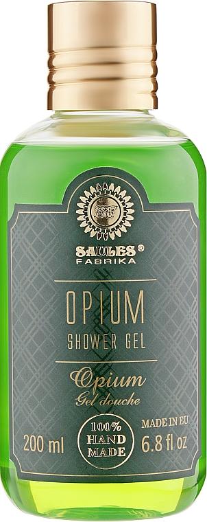 """Гель для душа """"Опиум"""" - Saules Fabrika Shower Gel"""