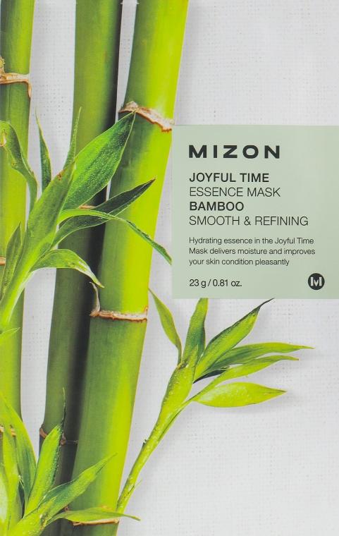 "Тканевая маска для лица ""Бамбук"" - Mizon Joyful Time Essence Mask"