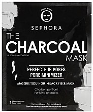 Духи, Парфюмерия, косметика Тканевая маска для лица с углем - Sephora The Charcoal Mask
