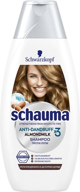 """Шампунь против перхоти """"Молочко Миндаля"""" - Schauma Anti-Dandruff x3 Almond Milk"""