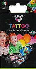 "Духи, Парфюмерия, косметика Детские пластыри с имитацией тату ""Tattoo"" - Milplast"