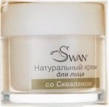 """Духи, Парфюмерия, косметика Крем для лица """"Сквалановый"""" - Swan Face Cream"""