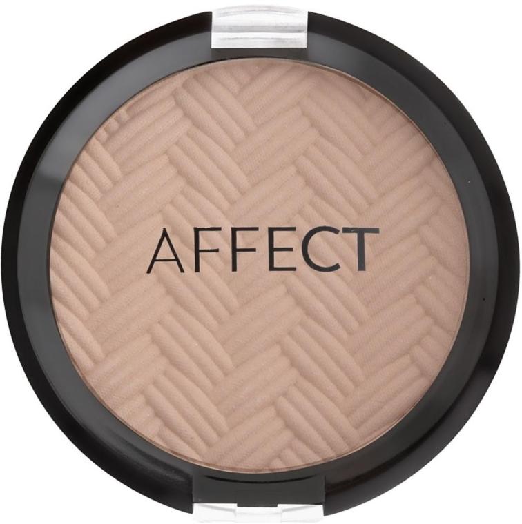 Пудра для лица - Affect Cosmetics Glamour Pressed Bronzer Powder — фото N1