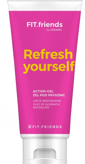 Гель для душа - AA Cosmetics Fit.Friends Refresh Yourself Action-Gel — фото N1