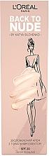 Духи, Парфюмерия, косметика Тонирующий увлажняющий крем для лица - L'Oreal Paris Back to Nude by Katya Silchenko Skin Paradise