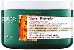Духи, Парфюмерия, косметика Восстанавливающая маска для волос - Vichy Dercos Nutrients Nutri Protein Restorative Mask