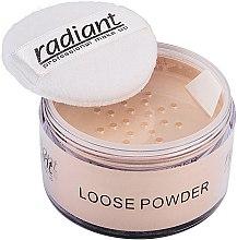 Духи, Парфюмерия, косметика Рассыпчатая пудра для лица - Radiant Loose Face Powder