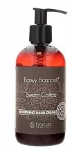 "Духи, Парфюмерия, косметика Увлажняющий крем для рук ""Сладкий кофе"" - Barwa Harmony Sweet Coffee Nourishing Hand Cream"