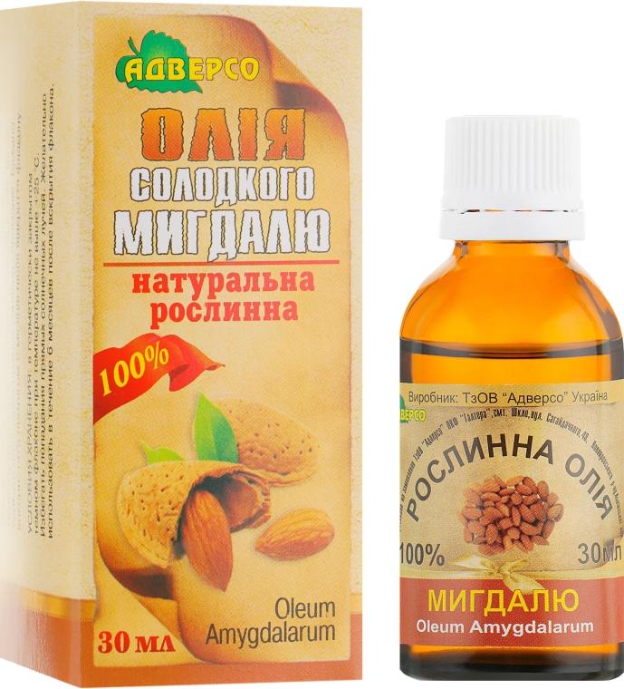 """Натуральное масло """"Сладкого миндаля"""" - Адверсо"""