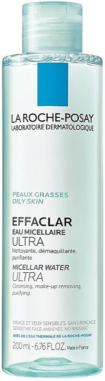 Очищающая мицеллярная вода - La Roche-Posay Effaclar Micellar Water Ultra