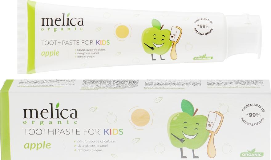 """Детская зубная паста """"Яблоко"""" - Melica Organic Toothpaste For Kids Apple"""