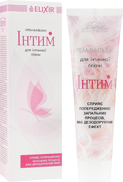 """Крем бальзам """"Интим"""" для интимной гигиены - Эликсир"""